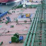 Merchant ship tie coat / professional vessel / multi-use / two-component