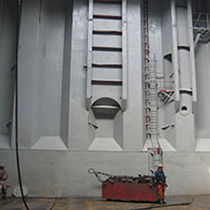 Professional vessel coating / for ships / anti-corrosion / two-component