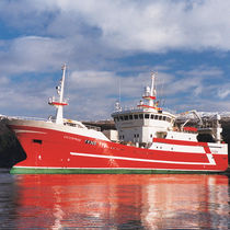 Fishing trawler commercial fishing vessel / tuna seiner