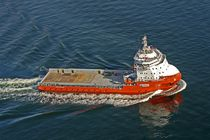 Platform supply vessel (PSV) offshore support vessel