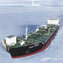 Oil tanker freighter