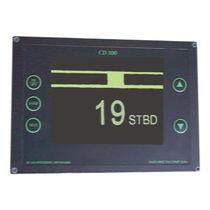 Ship indicator / rudder angle / analog / digital