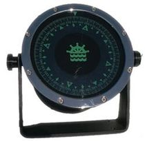 Ship steering compass / magnetic / horizontal / with mounting bracket