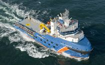 Anchor-handling tugboat (AHT) offshore support vessel / supply / high-speed