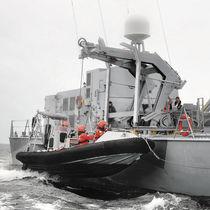 Ship davit / hydraulic