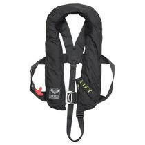 Inflatable life jacket / with safety harness / commercial