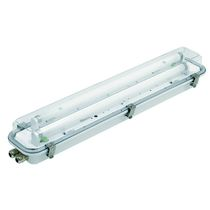 Indoor light / for ships / fluorescent / wall-mount