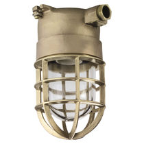 Outdoor light / for ships / incandescent / brass