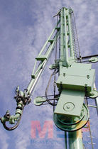 Rotary counterweight marine loading arm