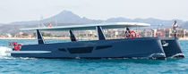Catamaran excursion boat