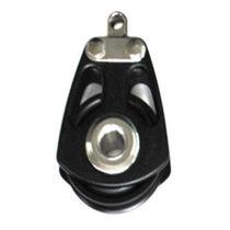 Ball bearing block / single / max. rope ø 16 mm / for sailboats