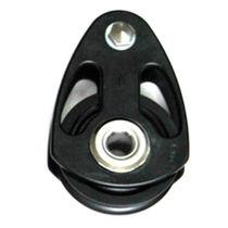 Ball bearing block / single / max. rope ø 19 mm / for sailing yachts