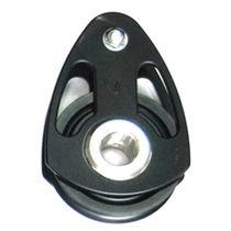 Ball bearing block / single / max. rope ø 22 mm / for sailing yachts