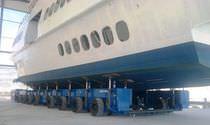 Heavy-duty handling trailer / shipyard / modular / self-propelled