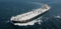 Oil tanker cargo ship