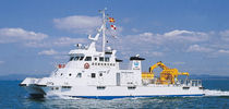 Hydrographic survey special vessel