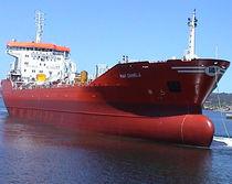 Chemical tanker cargo ship