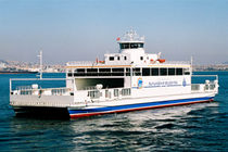 Catamaran car ferry