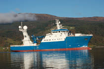 Monohull hydrographic surveys ship