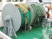 Ship winch / trawl / hydraulic drive / electric drive