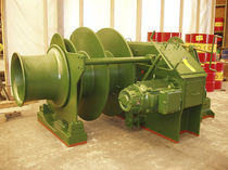 Ship winch / mooring / hydraulic drive / electric drive