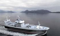 Fishing trawler professional fishing vessel