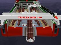Ship crane / floor track / deck