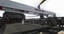 Line tensioner / for ships
