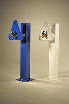 Electrical distribution pedestal / water supply / for docks