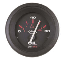 Boat indicator / oil pressure / analog