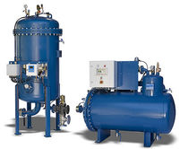 Bilge water treatment system / for ships