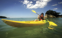 Sit-on-top kayak / rigid / surf / entry-level