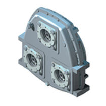 Professional fishing boat reduction gearbox / for hydraulic installations