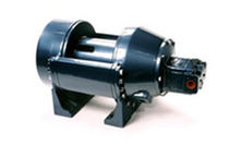 Fishing boat winch / for ships / towing / hydraulic drive