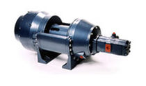 Fishing ship winch / towing / hydraulic drive / single-drum