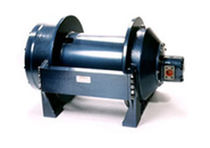 Ship winch / hydraulic drive