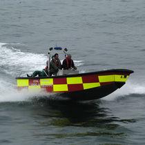 Inboard rescue boat / inboard waterjet / aluminum