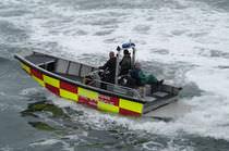 Inboard rescue boat / aluminum / hydro-jet