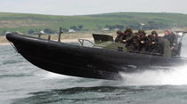 Inboard military boat / rigid hull inflatable boat / aluminum