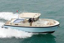 Power boat hard-top