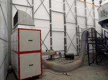 Mobile dust extractor / shipyard