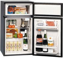 Free-standing refrigerator-freezer