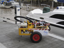 Firefighting trolley / for docks