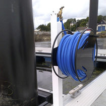 Dock hose reel