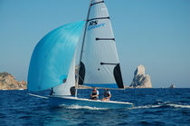 Double-handed sailing dinghy / instructional / asymmetric spinnaker