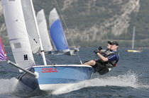 Double-handed sailing dinghy / regatta / asymmetric spinnaker
