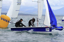Double-handed sailing dinghy / recreational / asymmetric spinnaker / Laser