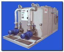Black water treatment system / for yachts / for ships
