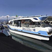 Inboard passenger boat / electric / aluminum