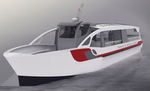 Electric sightseeing boat / aluminum
